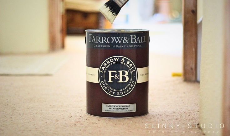 We painted a Cornish cottage hallway in some chalky authenticity - Farrow and Ball Estate Emulsion Paint Review  *Farrow's Cream (No.67