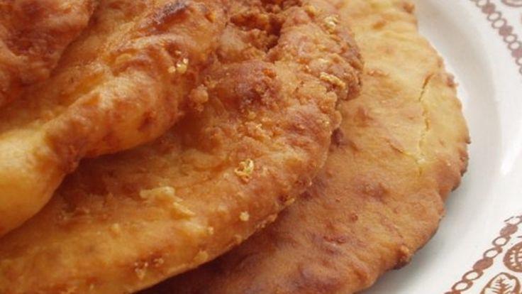10 perces sajtos lángos
