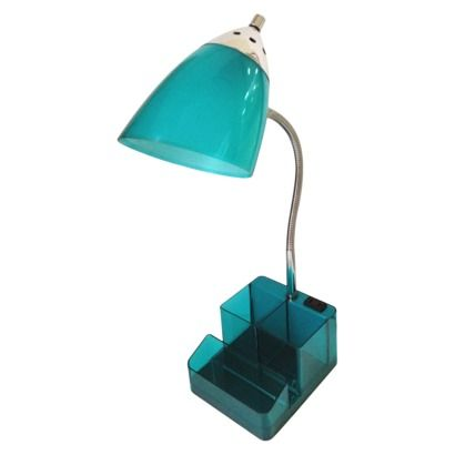 Room Essentials® Task Lamp with Tablet Slot - Best 25+ Teal Desk Lamps Ideas On Pinterest Teal Bedroom Walls