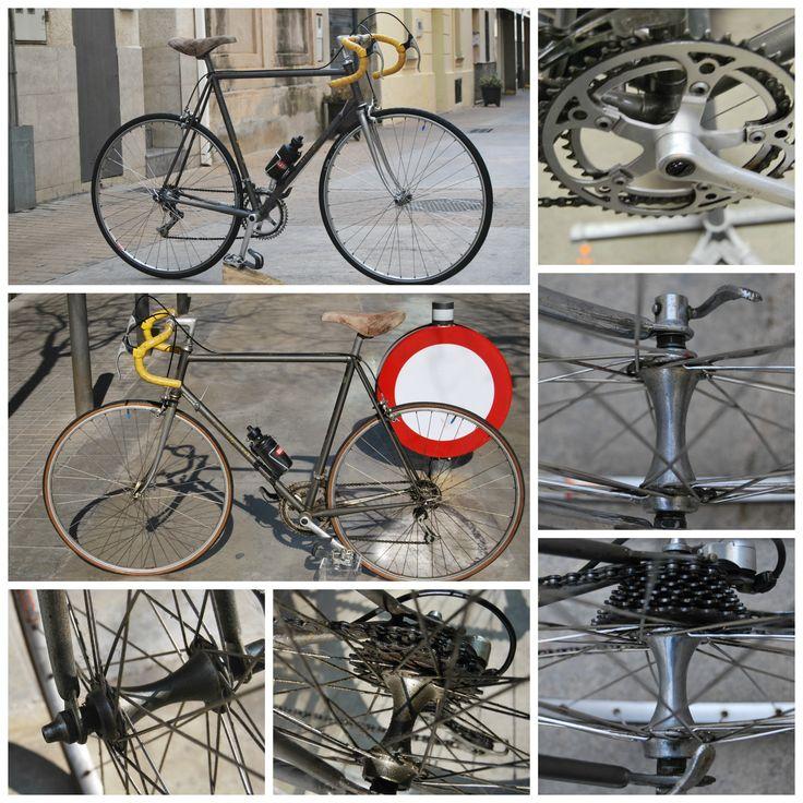 Bicycle restoration, Eatingroads.