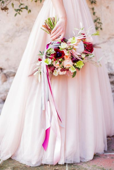 Blush perfection: http://www.stylemepretty.com/california-weddings/2015/05/13/old-mill-villa-inspired-shoot/ | Photography: Sally Pinera - http://www.sallypinera.com/