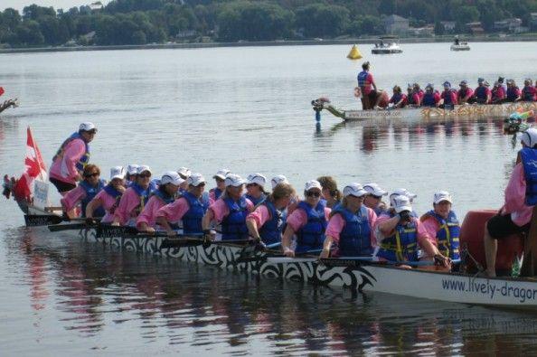 Help support Lorraine's Dragon Boat Fundraiser .