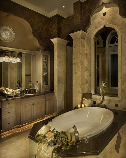 Bathroom tile work amazing bathrooms pinterest for Amazing master bathroom designs