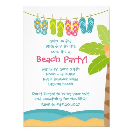 37 best Beach Party images on Pinterest Birthday party ideas