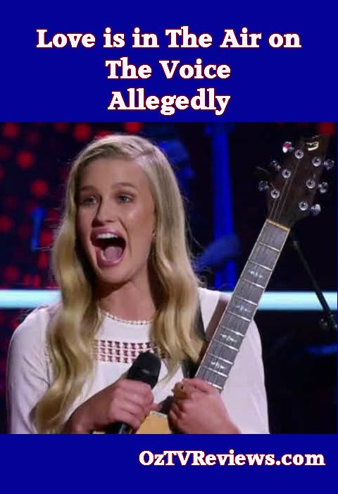 The Voice Battles Round One  #TheVoiceAu  Love is in the Air on The Voice, allegedly http://oztvreviews.com/2015/07/the-voice-battles-round-one/
