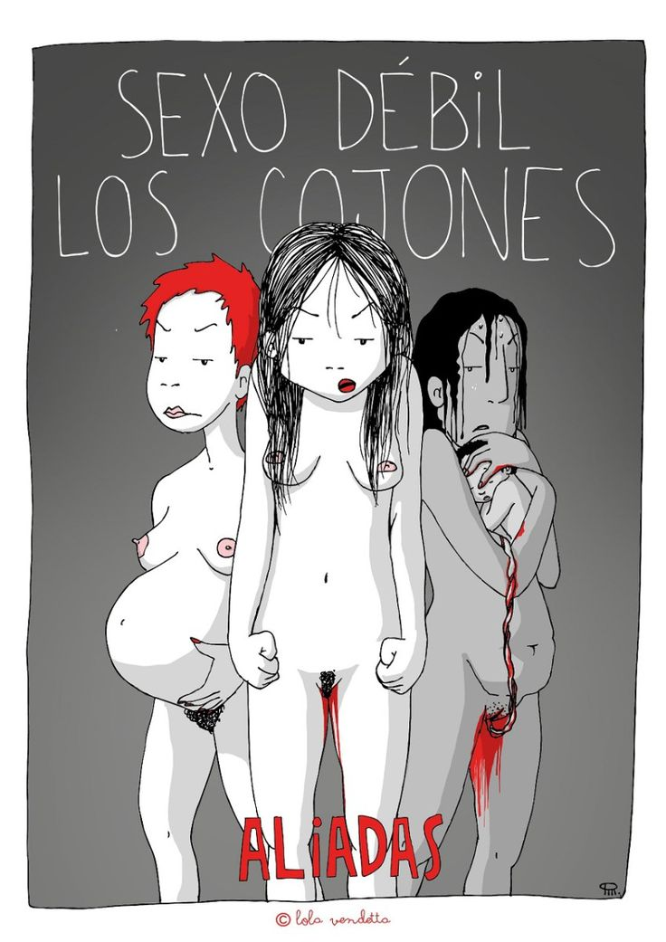 Obra de Lola Vendetta.                                                                                                                                                                                 Más