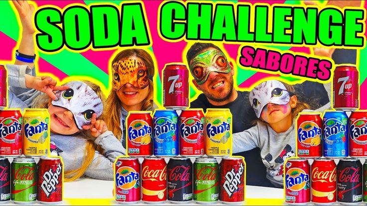 SODA CHALLENGE!! REFRESCOS DE SABORES DIFERENTES!! ·VLOG·