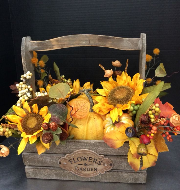 Autumn box of pumpkins by Andrea store #6700