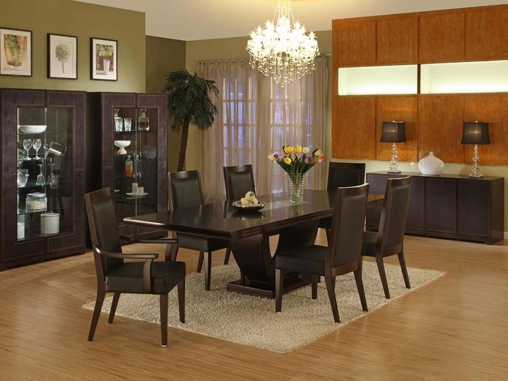 Impressive Modern Dining Room Ideas | Large dining rooms ...