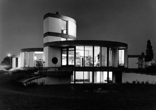 385. Paul Schneider-Esleben /// Dr. Martin Zindler House ///...