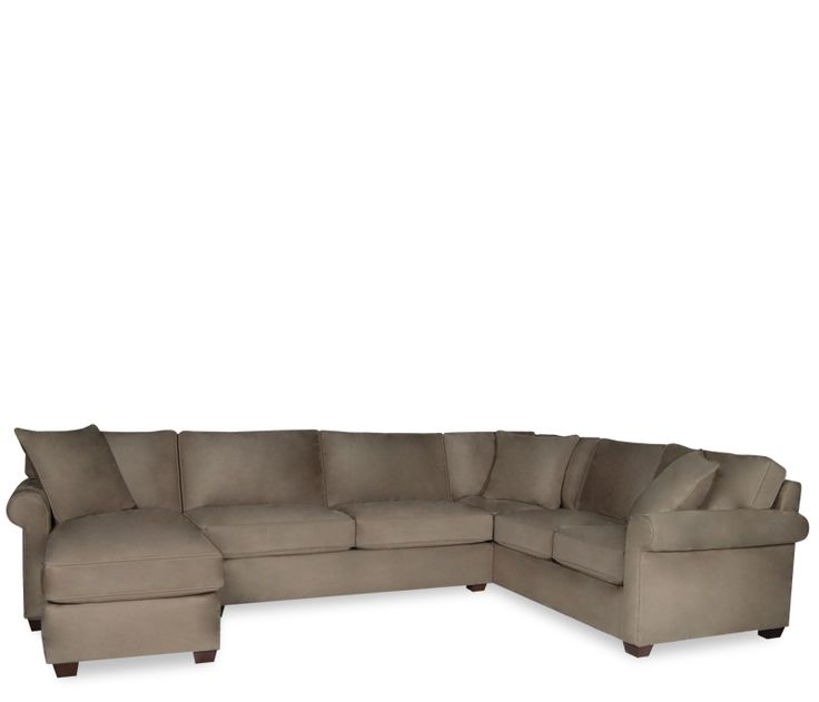 Marshall 3-pc Sectional With Chaise - This item may be custom ordered in over