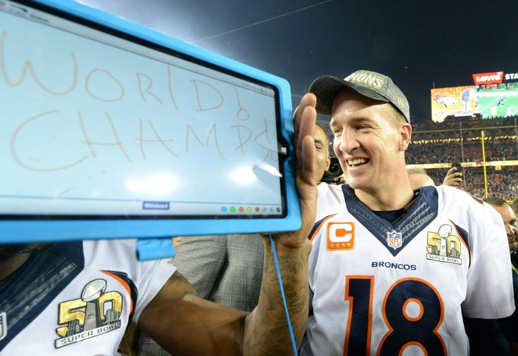 Zoom out far enough, and the arc of Peyton Manning's career looks perfect and pre-ordained. The son of a football legend, Manning became a legend himse ...