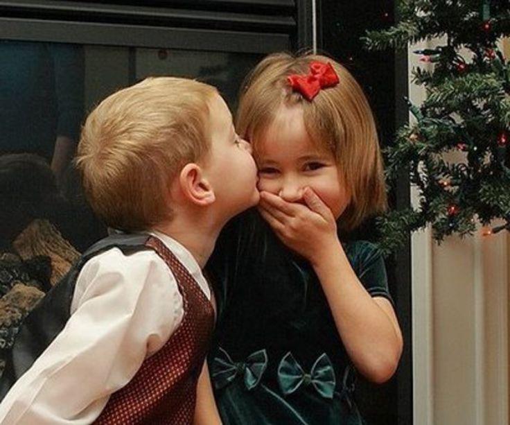 Pictures Of Cute Children Love Kiss Kidskunstinfo