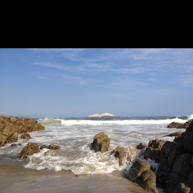 Playa Roca Blanca, Puerto Escondido, Oaxaca, México