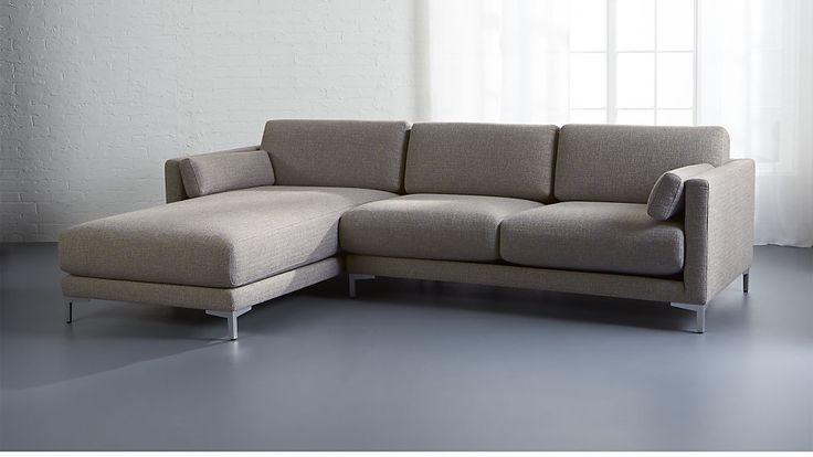 district 2-piece sectional sofa | CB2