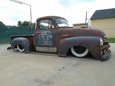 1954 Chevy Rat Rod Pickup Truck Air Bags Custom Chevrolet Hot Rod 53 55 56 C10 - Used Chevrolet Other Pickups for sale in Greensboro, North Carolina | Cargeni.com