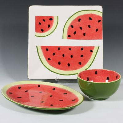 286 Best Images About Watermelon Kitchen On Pinterest