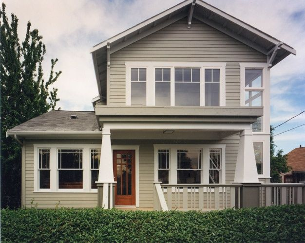 second story addition and interior design to small house makes a big new house in West Seattle, WA