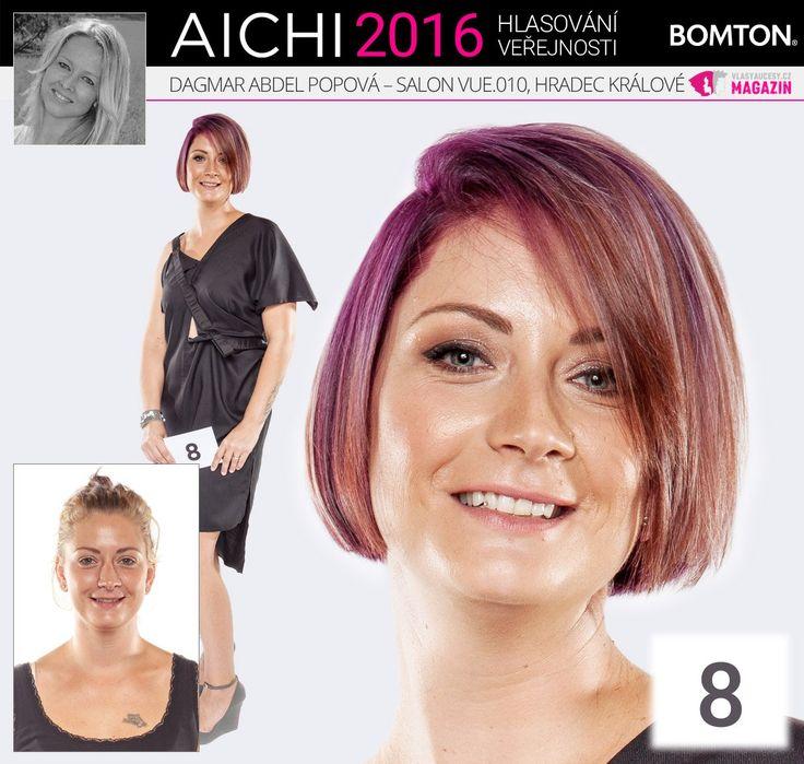 Finále AICHI 2016: Dagmar Abdel Popová - Salon VUE.010, Hradec Králové