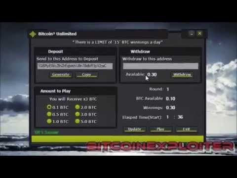 Bitcoin Generator - Generate free Bitcoin or double your ...