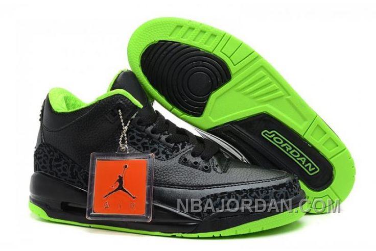 http://www.nbajordan.com/nike-air-jordan-3-iii-homme-noir-vert-lastest.html NIKE AIR JORDAN 3 III HOMME NOIR/VERT LASTEST Only $69.00 , Free Shipping!