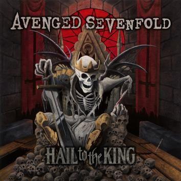 """L'album degli #AvengedSevenfold intitolato """"Hail To The King"""" su doppio vinile 125 gr con copertina rigida cartonata gatefold."""