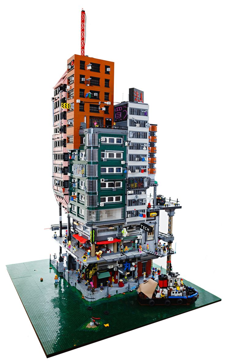 how to build a lego city