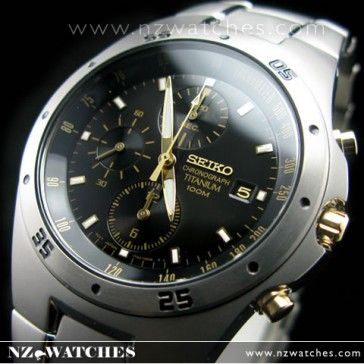 BUY Seiko titanium watch 100m Chronograph watches SND451P1 - Buy Watches Online | SEIKO NZ Watches