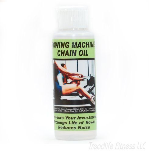 Quality  Rowing Machine Chain Oil, Works Great on Concept 2 Rower