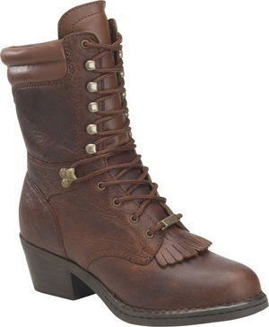 Double H Women's Artesia Western Packers - Black Black Man-Made Boot Double H Boot. $97.00
