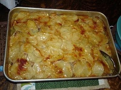 Moo said the mama: Dairy-free scalloped potatoes and ham | dairy free ...