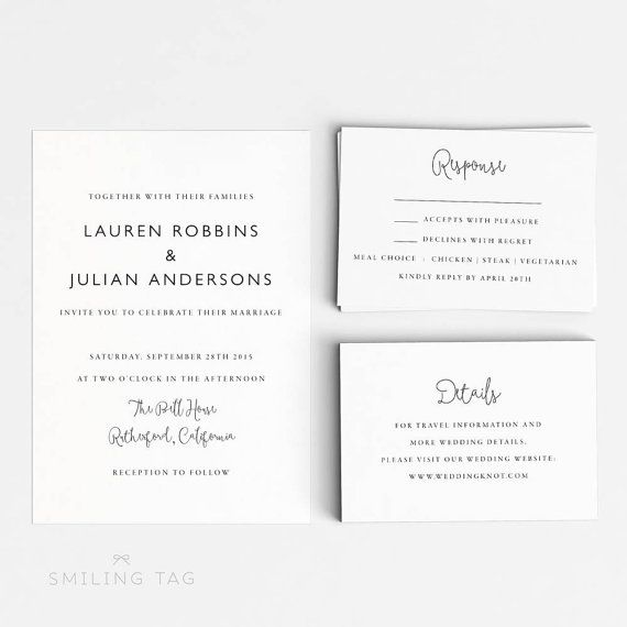 24 best Invitations images on Pinterest Wedding invitation design