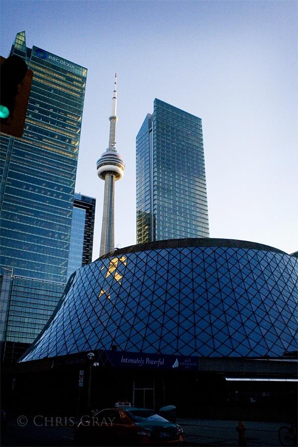 Downtown #Toronto. #CNTower