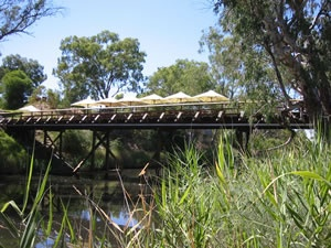 Sunday Bridge, Pfeiffer Wines, Rutherglen, Victoria, Australia. http://www.visitvineyards.com/victoria/wine/vineyards-wineries/wine-food-travel-articles/victoria-rutherglen-show-your-card-and-save-at-pfeiffer-wines