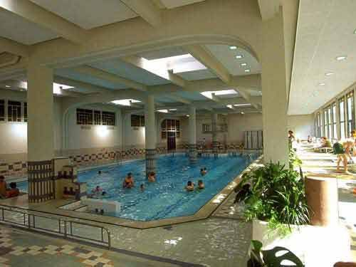 Indoor swimming pool at Vittel Club Med Le Parc (France)