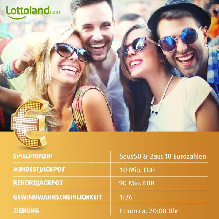 EuroJackpot - Europas beliebte Lotterie mit den besten Gewinnchancen! #EuroJackpot #Lotto #Jackpot