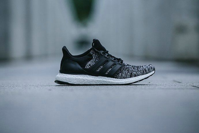 Free Shipping Only 69$ REIGNING CHAMP X ADIDAS ULTRA BOOST CORE BLACK UK Trainer