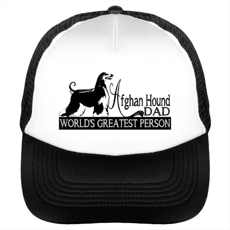 "Afghan Hound DAD SUN CAP BEST GIFT FOR Afghan Hound PAPA SUNFROG HAT FOR FATHERS DAY CELEBRATION                                                                                                     		 			100% Polyester foam front, soft mesh back 			Structured, five-panel, mid profile 			3.5"" crown 			Pre-curved visor with braid detailing 			Adjustable double plastic tab back"