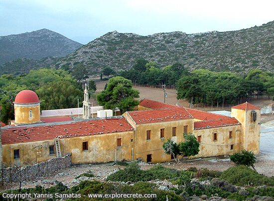 Gouverneto Monastery (Moni Gouvernetou) is one of the oldest monasteries in Crete, as it was built in 1537.