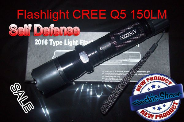 flashlight Tourch-Police-Self-defense-Electric-Shock-LED-Flashligh 1101