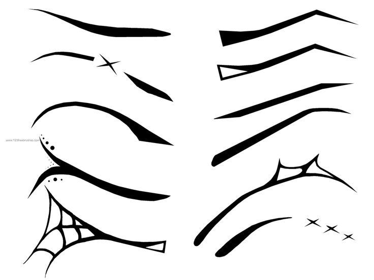 goth eyebrows - Google Search