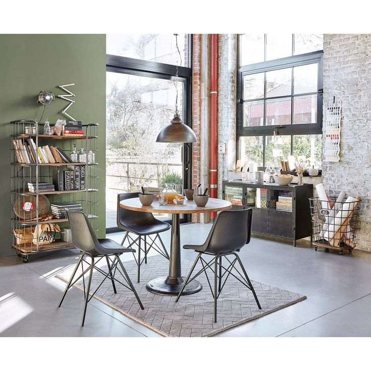 Best 25 Metal Dining Table Ideas On Pinterest  Made To Measure New Metal Dining Room Furniture Decorating Design