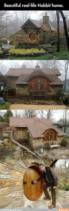 Beautiful. Real life Hobbit home. I must have!
