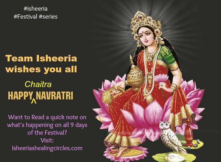 Interesting read about #Chaitra #Navratras #isheeria #Festivals #Navratras #series