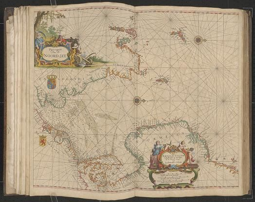 Page 3 Zee-atlas; Colom, Arnold 1656?  Albert and Shirley Small Special Collections Library, University of Virginia.  http://search.lib.virginia.edu/catalog/uva-lib:2287415/view#openLayer/uva-lib:2380005/6653/8377.5/2/1/0