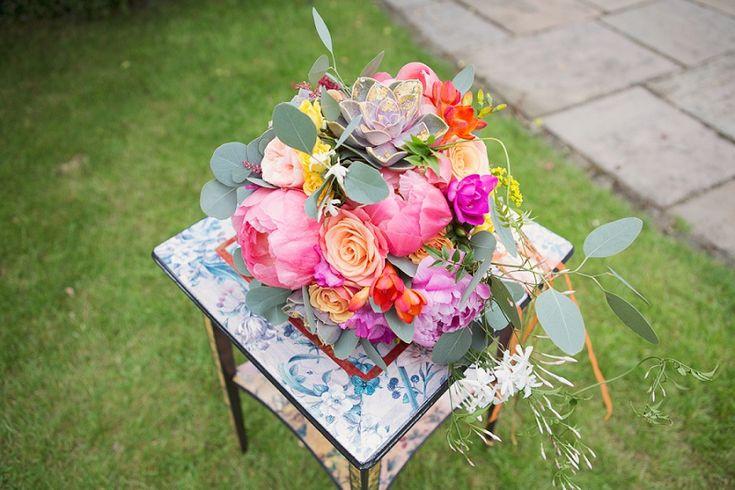 Knallbunte Hochzeit mit Flamingos in Hampton Court von Cotton Candy   Hochzeitsblog - The Little Wedding Corner