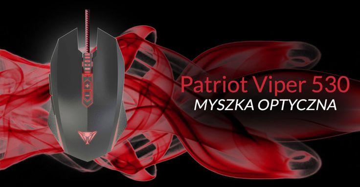 Patriot Viper 530 to myszka z bardzo efektownym podświetleniem LED, wyposażona w 7 w pełni programowalnych przycisków, z optycznym sensorem Avago 3050 oraz rozdzielczością DPI na poziomie 4000.   #dla graczy #gaming #myszka #Optical #Optyczna #Patriot Memory #Patriot Memory Viper V530 #recenzja #test #unboxing #V530 #Viper
