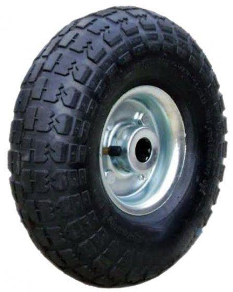 Rodinha - roda de pneu R 350 x  4 com rolamento de rolete  0
