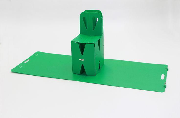 mariko tsujimoto folds origami pop up furniture out of book covers - designboom   architecture