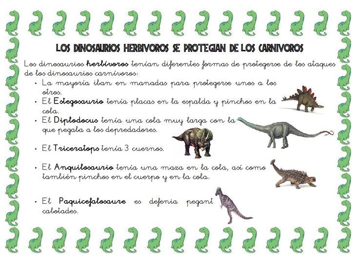 Pin En Dinosaures
